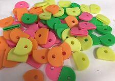 Neon Coloured Key Caps x 25