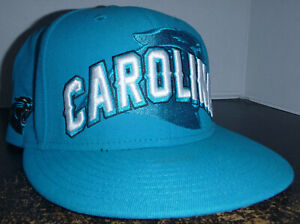 Carolina Panthers NFL Football New Era Fitted Hat Cap Size 7 1/2