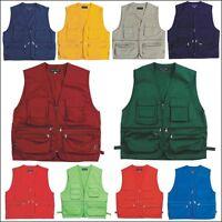 Mens Multi Pockets Fly Fishing Hunting Vests Mens Travel Outdoor Jacket Top3