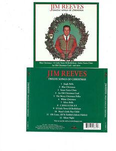 JIM REEVES - Twelve Songs of Christmas (CD, Oct-1988, RCA) | eBay
