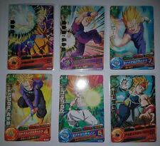 Carte Dragon Ball Z DBZ Dragon Ball Heroes Gumica PBC4 #Full Set MADE IN JAPAN