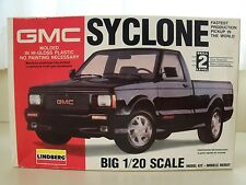 LINDBERG - GMC SYCLONE PICKUP TRUCK - MODEL KIT (CONTENTS SEALED)