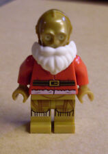Lego Star Wars Santa C-3PO ( Figur Droide C3PO Weihnachten Roboter gold ) Neu