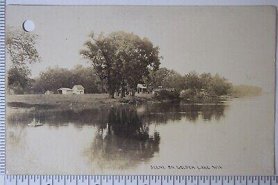 Free: Vintage Used Postcard: Pre Linen: 1912 Scene at Rice
