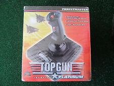 TOP GUN Thrustmaster 1996 Paramount Pictures Joystick Platinum SEALED NEW