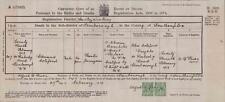 1918. Farnborough. Edmund Cotsford. 111 Peabody Road. Painter Journeyman QR1248