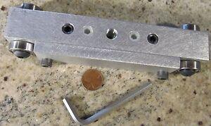 Capable Guitar Setup écrou & Selle Blank Montage, La Taille & épaisseur Outil Us Luthier Fabriqué-afficher Le Titre D'origine Toujours Acheter Bien