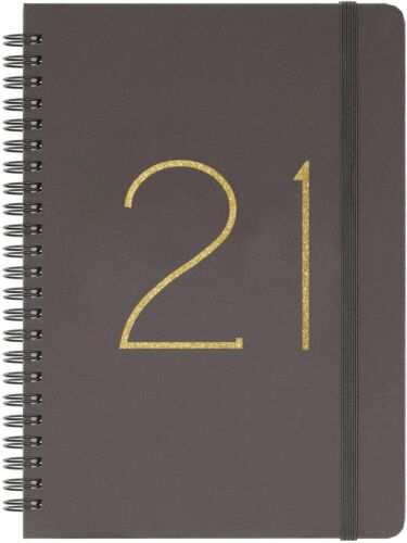 """2021 Planner Weekly /& Monthly Planner with Tabs Flexible Cover 6.45/"""" x 8.45/"""""""