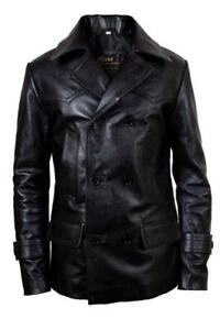 Who New Christopher Jacket Doctor Black German Leather Eccleston Style Coat Pea daSnqAP