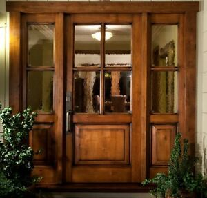 Image Is Loading Vail Style Knotty Alder 4 Lite Craftsman Entry