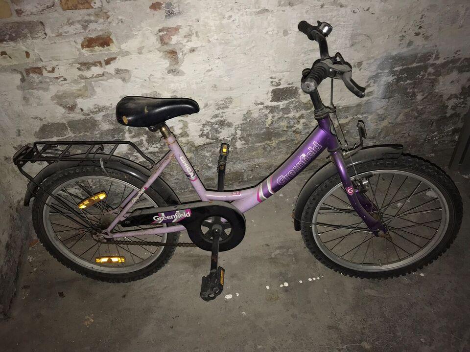 Pigecykel, classic cykel, Greenfield