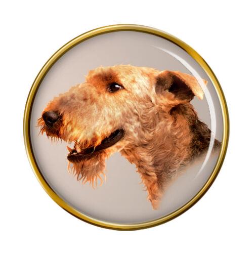 Airedale Terrier Hund Revers-Anstecknadel