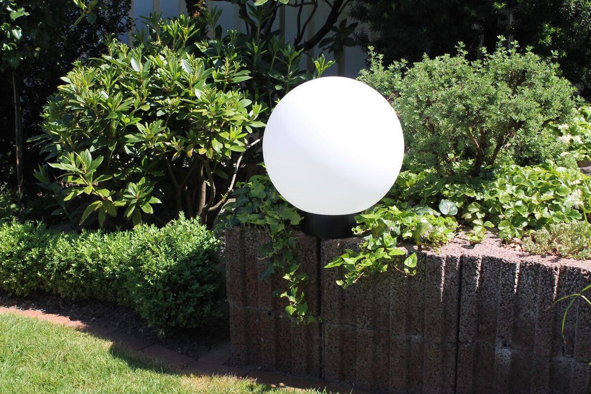 Leco Batería LED Bola de Jardín Ø 40cm Cambio Color Lámpara Iluminación
