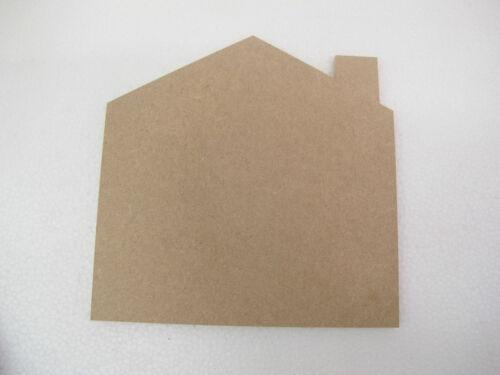 HOUSE SHAPE Name Plaque Premium Quality MDF 9mm MDF