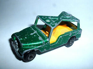 Modellino-incompleto-JEEP-C-J6-Made-in-England-1977-Matchbox-N-53