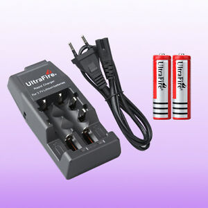 Ultrafire-WF-139-Ladegeraet-18650-wiederaufladbare-4200mAh-3-7V-Akku-Battery