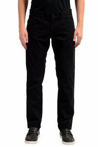 Dolce-amp-Gabbana-Men-039-s-Noir-Pantalon-Loisirs-US-32-it-48