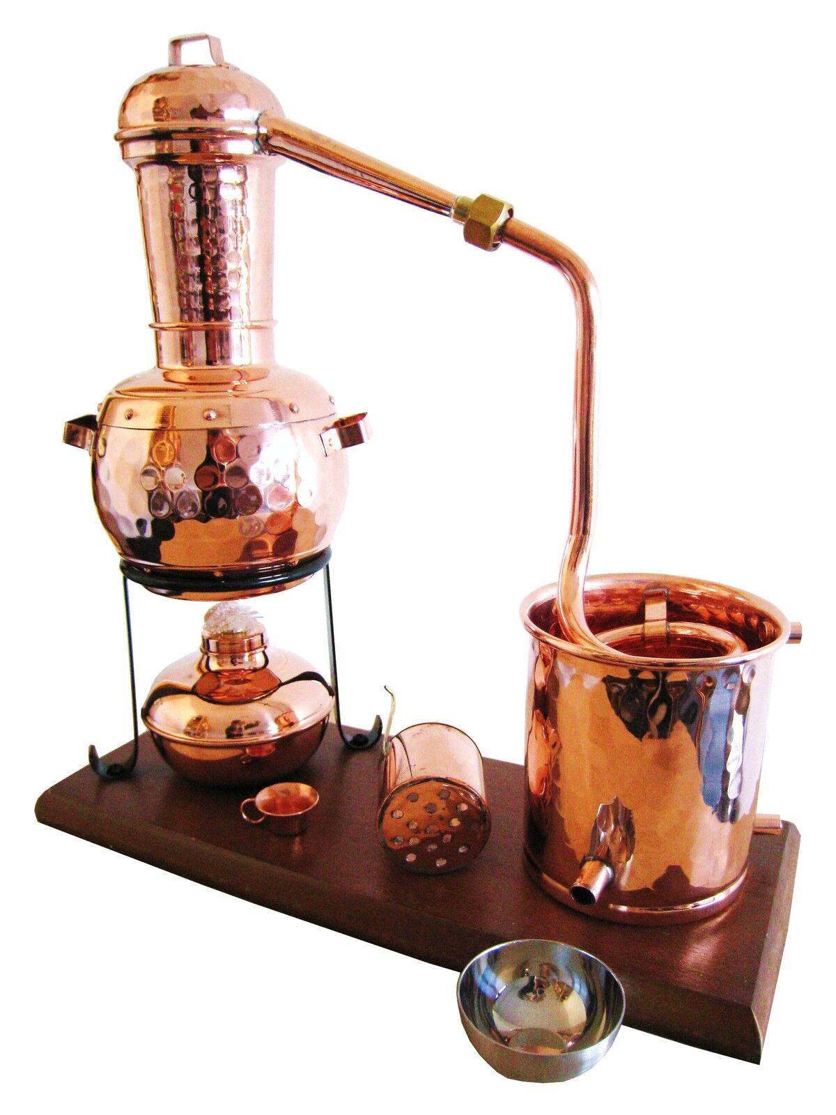 B-Ware  Destille, Modell  Kalif  mit Aromakorb Kratzer auf Brett