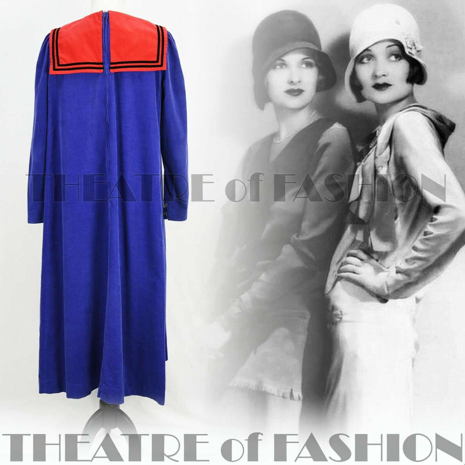 DRESS 20s 30s 30s 30s WEDDING VINTAGE LAURA ASHLEY 40s 50s VICTORIAN SAILOR M L XL XXL 30e3e0