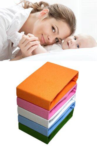 Frottee Spannbettlaken Spannbetttuch Bettleinen Bettlaken gute Qualität! Versand