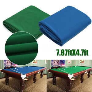 Genial Details About 340x145cm Worsted Billiard Pool Table Cloth Billiard Felt  Cover For 7ft Cloth