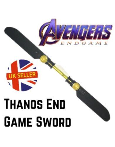 THANOS double épée LEGO Fit Avengers End Game Block Marvel Infinity Vendeur Britannique