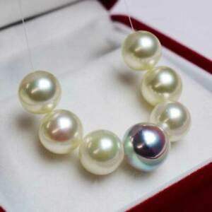 Baroque Japanese White Akoya Pearls Mini Strand