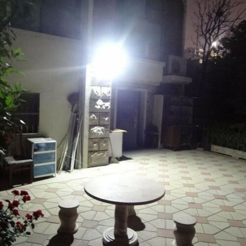10W 20LED Solar Powered PIR Motion Sensor Security Wall Street Light 6000K White