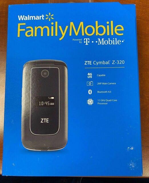 Zte Cymbal Z 320 4g Lte Metro Pcs Flip Phone For Sale Online Ebay