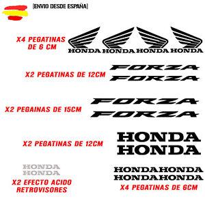PEGATINA-VINILO-ADHESIVO-HONDA-FORZA-MOTO-VINIL-STICKER-DECAL-KIT-DE-16-unds