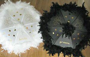 Second Line Umbrellas Bride And Groom Wedding Parasol Set From New