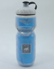 POLAR INSULATED BICYCLE BIKE CYCLING WATER BOTTLE BLUE 20oz