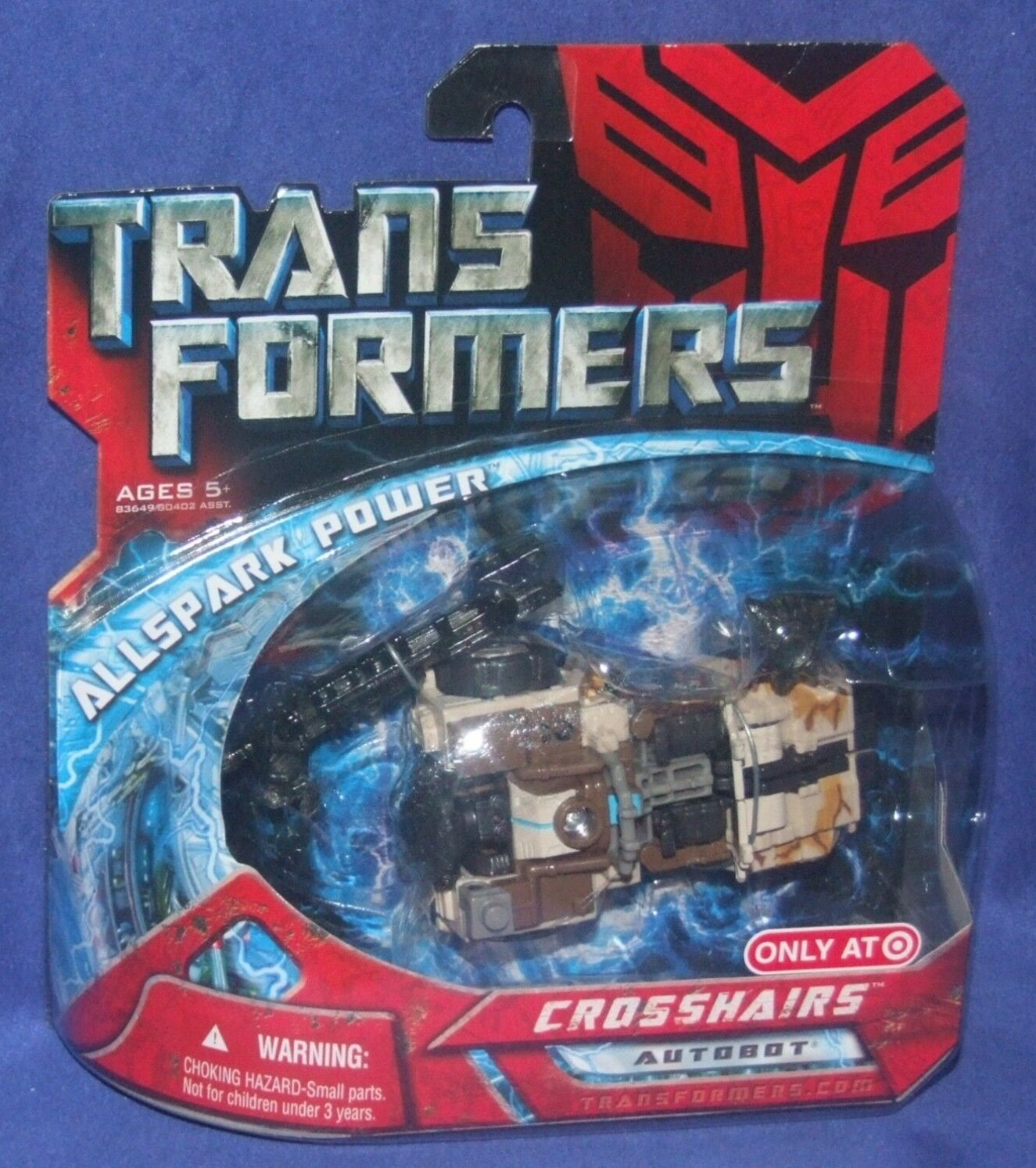 Transformers 4  Scout Scout Scout Class CROSSHAIRS New Target Exclusive Factory Sealed 2007 f98e4d