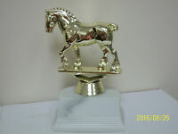 Draft Horse Award Trophy, Comes With Engraving, 5 High