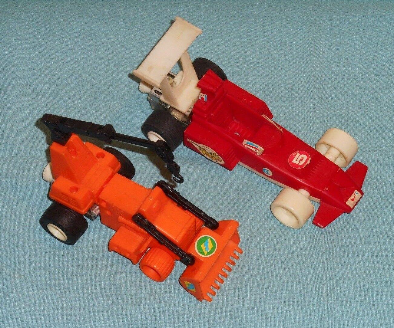 Vintage Mego Micronauts WARP RACER & CRATER CRUNCHER LOT working