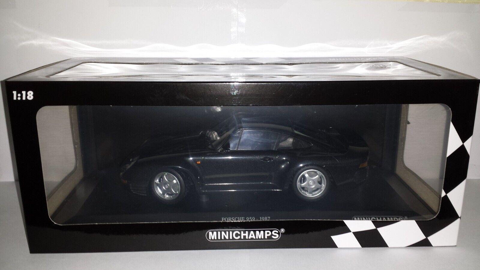 Minichamps  1 18 Porsche 959 1987 grijsmetallic nieuw in doos  économisez 60% de réduction et expédition rapide dans le monde entier
