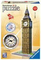 216 Teile Ravensburger 3d Puzzle Bauwerk Big Ben Mit Echter Uhr 12586