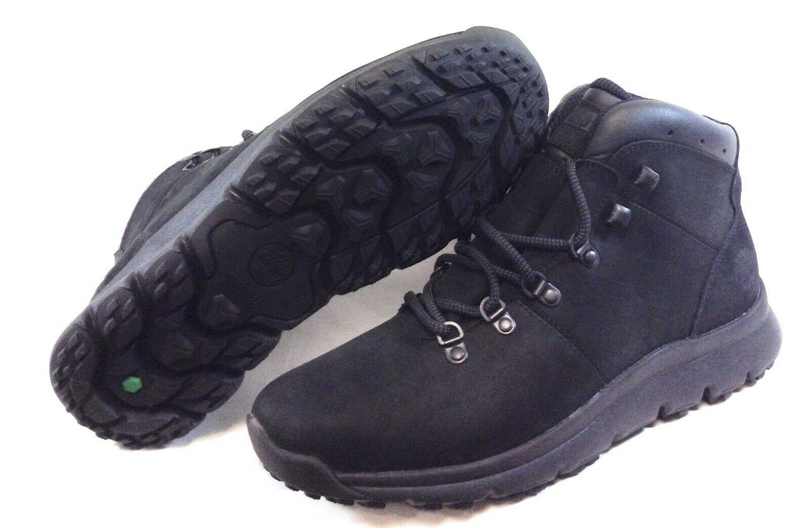 New Timberland MENS World Hiker Black Boot A1WND Size 7.5