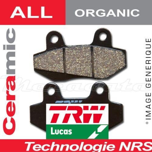 Plaquettes de frein Arrière TRW Lucas MCB 634 pour Suzuki GSR 750 11 C5
