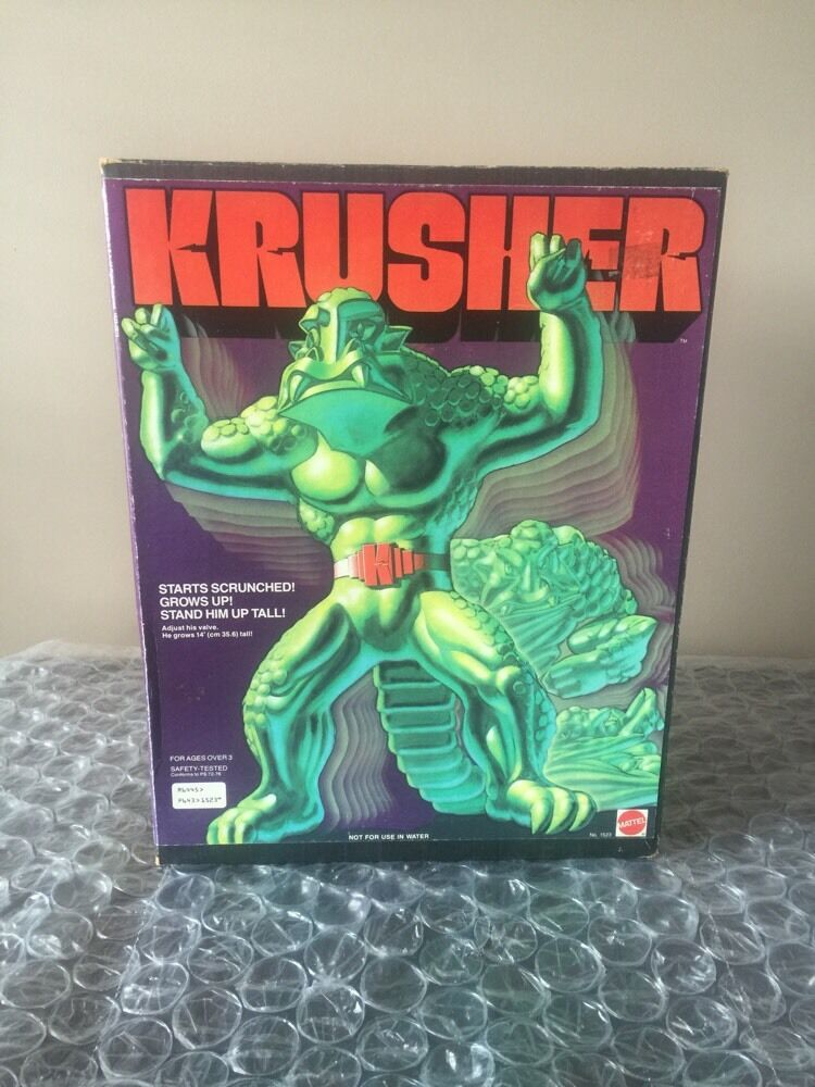 1979 Mattel Stretch Krusher, Enemy Of Stretch Armstrong - Unused Best On Ebay