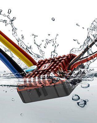 Hobbywing QUICRUN WP1080 Waterproof Rock Crawler Brushed ESC, (2-3S) (30112750)