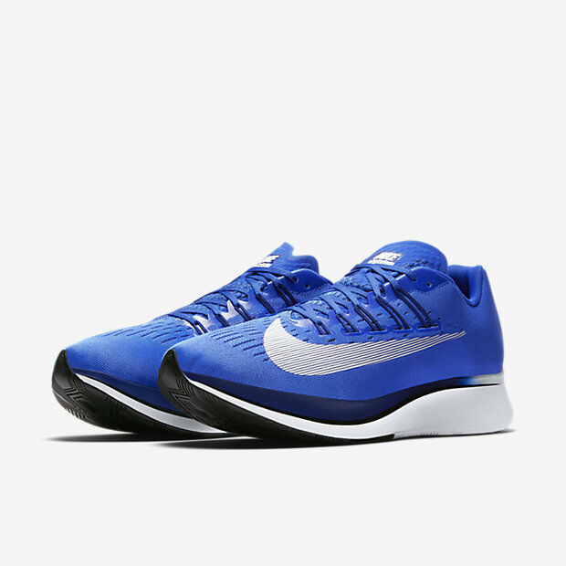 NIKE ZOOM FLY RUNNING SHOES BLUE MEN SIZE 9.5 NEW 880848-411