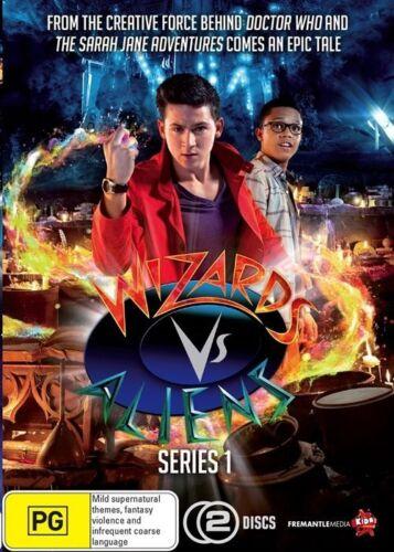 1 of 1 - Wizards Vs Aliens : Season 1 (DVD, 2013, 2-Disc Set)