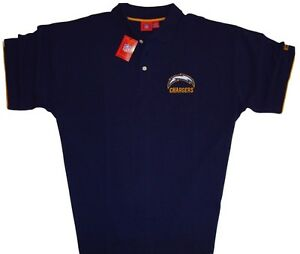San-Diego-Chargers-NFL-Men-039-s-Vintage-Team-Logo-Polo-Shirt-Big-amp-Tall-Sizes-NWT