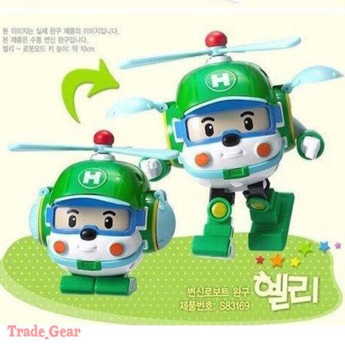 "ROBOCAR POLI /""HELI/"" Transforming robot Transformable transformer TOY NEW"