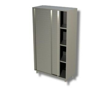 Gabinete-de-150x70x200-puertas-correderas-de-acero-inoxidable-304-restaurante-pi
