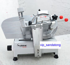 10 Blade Commercial Electric Meat Slicer Machine Food Vegetables Slicer 220v