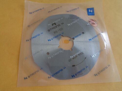 "4/""  OCTAGONAL REPLACEMENT BLADE FOR ROTARY FABRIC CUTTER"
