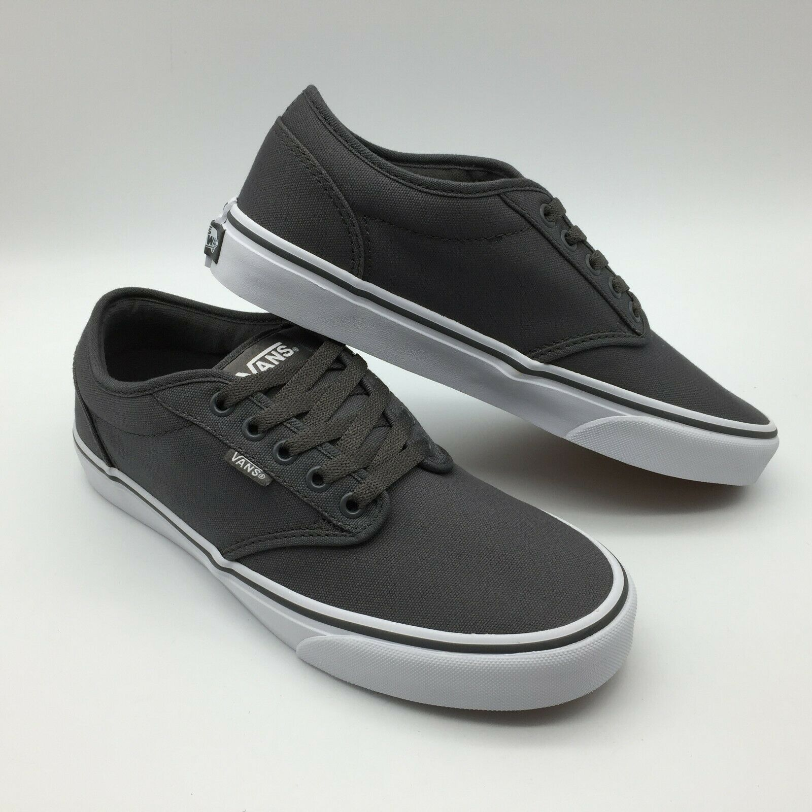 Vans Men Women's shoes's Atwood -- (Canvas) Pewter White