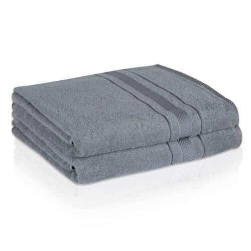 Duschtuch Badetuch Handtuch 500g//m² 100/% Baumwolle verschiedenen Farben Auswahl